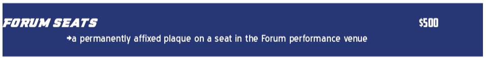 Forum Seats